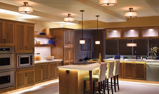 осветление кухня