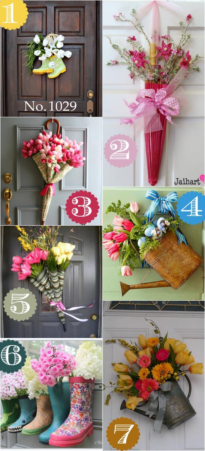 Креативни идеи за входната врата